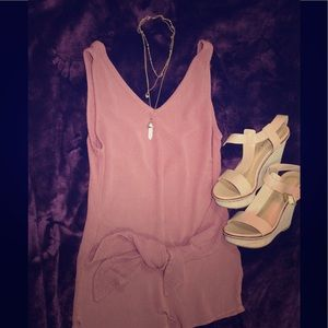 Kendall and Kylie Pink Romper